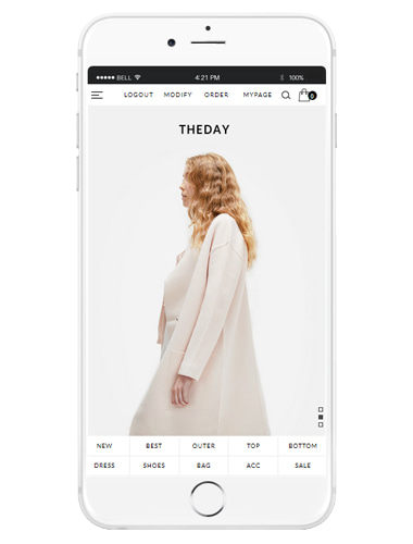 [MOBILE SMART DESIGN] NO. M111 THEDAY