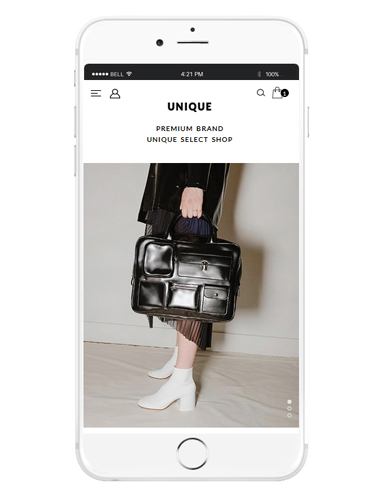 [MOBILE SMART DESIGN] NO. M151 UNIQUE